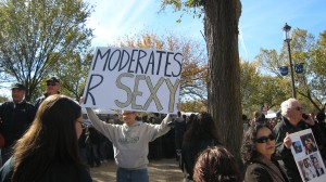"Sign ""Moderates R Sexy"""